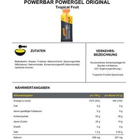 PowerBar PowerGel Original Box Tropical Fruit 24 x 41g